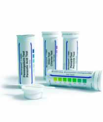 MERCK 110081 Peroxide Test Method: colorimetric with test strips 1 - 3 - 10 - 30 - 100 mg/l H₂O₂ MQuant™ Peroksit Testi Kolorimetrik 1 - 3 - 10 - 30 -